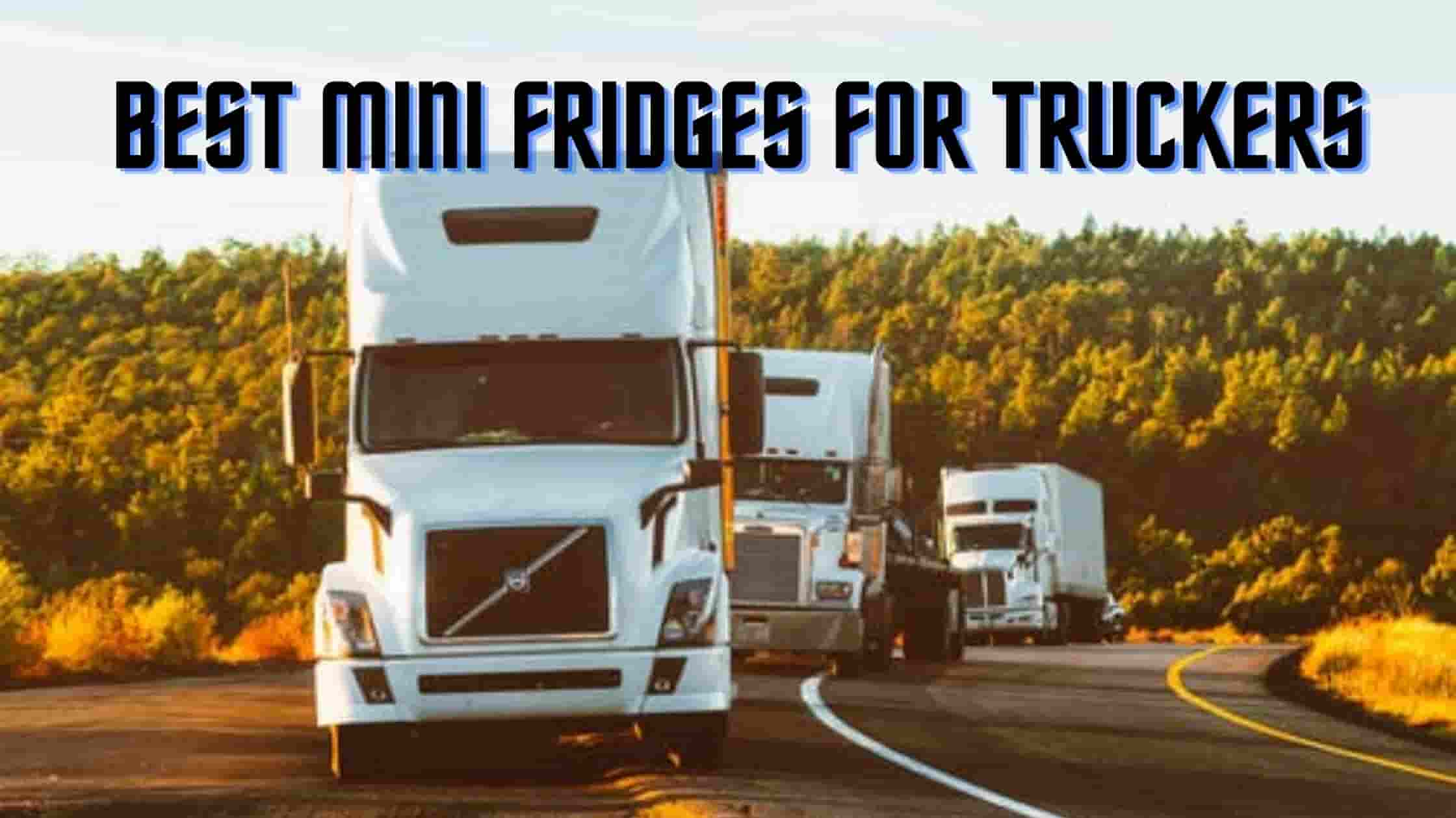 Best Mini Fridges for Truckers