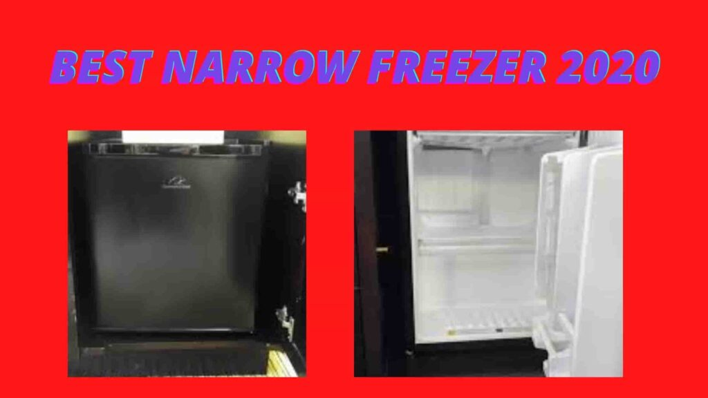 best narraow upright freezer
