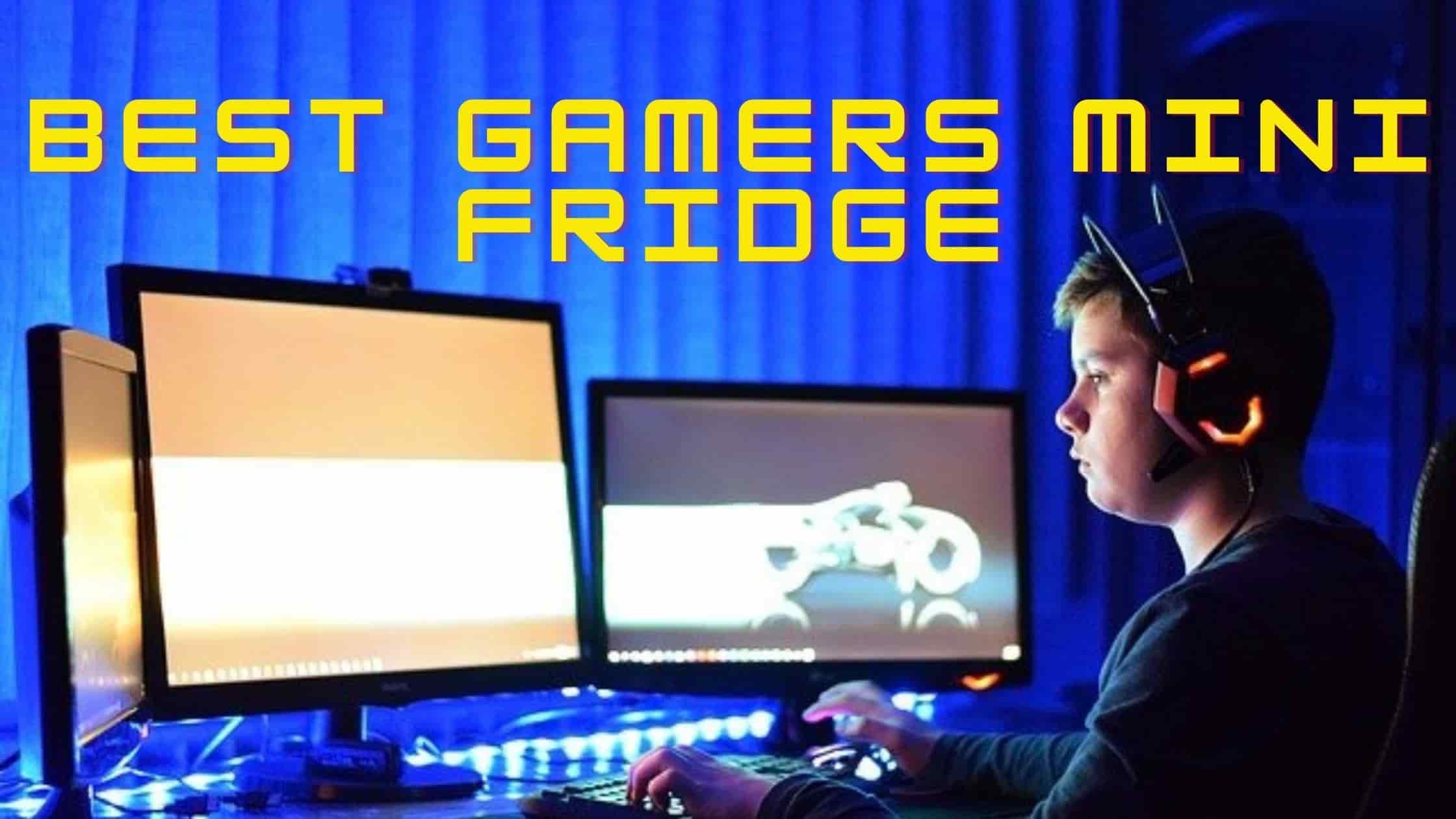 5 Best Gaming Mini Fridge 2021 for Gamers - Reviews & Guide