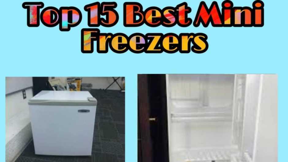 top 15 best mini freezers